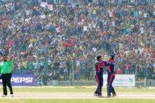 नेपाल युएईद्वारा ३ विकेटले पराजित
