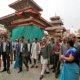 Prime Minister Oli reviews post-shudder recreation works in Kathmandu Valley